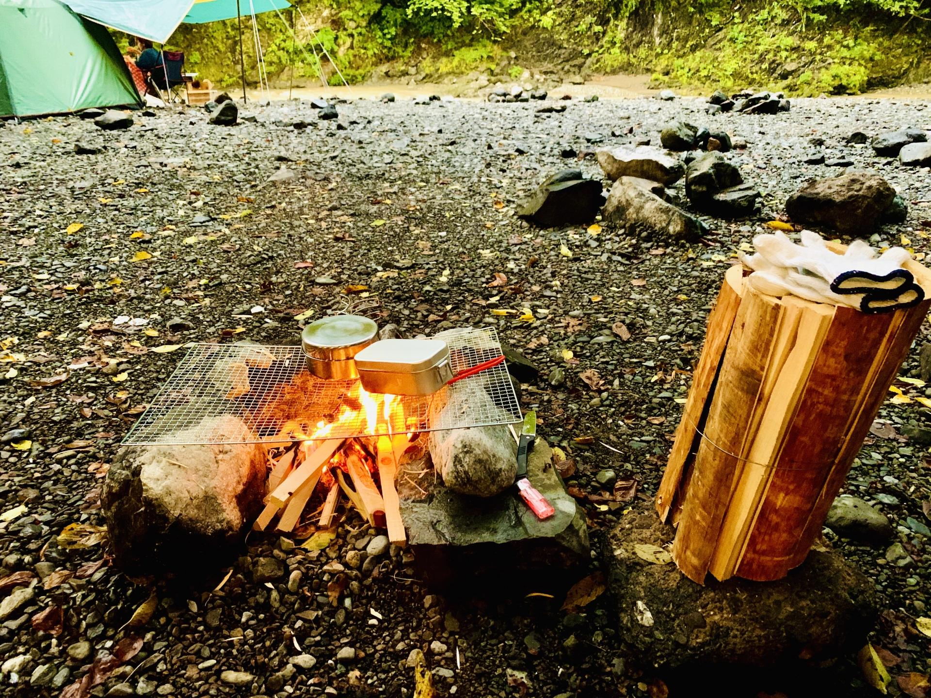 秋キャンプの持ち物リスト